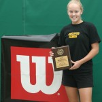 Jaime Gaard claimed the singles title at the ITA Midwest Regional.