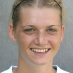 Jenna Iaizzo registered the only goal in a 1-0 Gustie victory over Augsburg.