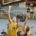 Phil Sowden scored a game-high 21 points in a 66-53 loss to Carleton.