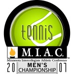 Gustavus Adolphus will host the 2007 MIAC Men's Tennis Tournament April 27-28 in St. Peter.