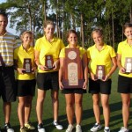 The Gustie women's golf team placed 3rd at the NCAA Championships