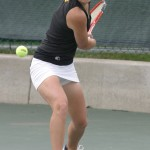 Gustavus senior Jenni White is the #3 seed in the singles draw.