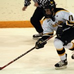 Gustavus' leading scorer David Martinson