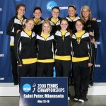 The 2008 Gustavus Women's Tennis NCAA Tournament Squad