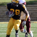 Senior Ray Wilson broke the Gustavus single-game rushing record with 258 yards.