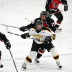 Gustavus and UW-River Falls combined to commit 22 penalties.