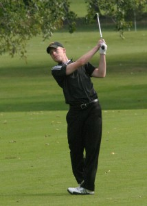 A.J. Olson tied for third individually with teammate Alex Kolquist
