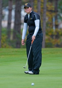 Katie Schenfeld claimed medalist honors