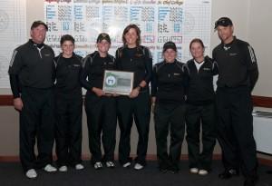 Gustavus Women's Golf - 2009 MIAC Champions