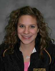 MIAC Women's Swimmer of the Week Carly Mosher
