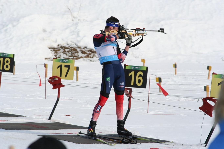 Biathlon skis