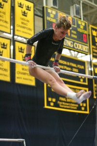 Laurel Urquhart will compete on the bars and balance beam this season.
