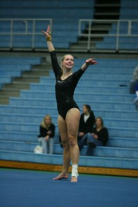 Senior Christina Sorensen will add depth on the vault and balance beam.
