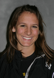 Danielle Burgmeier finished eighth with a time of 0:40.48