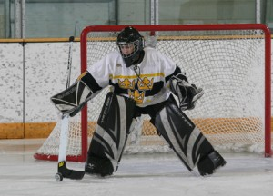 Danielle Justice recorded 15 saves against UW-Superior