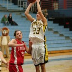 Molly Geske scored 11 points for the Gusties.