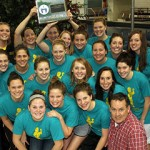 The 2010 MIAC Champion Gustavus Women's Swimming and Diving Team