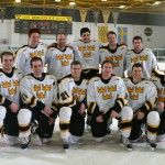 Eleven Gustie seniors played their final home game at Don Roberts Ice Rink on Friday night.