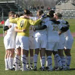 The Gustavus women's soccer team played Augsburg to a 0-0 tie in the season finale.