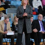 Gustavus Head Coach Mickey Haller earned her 200th career victory with the win over Concordia