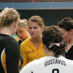 Gustavus Head Volleyball Coach Rachelle Dosch