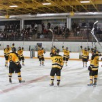 The Gustavus men's hockey team will face Hamline in the MIAC Semifinals on Saturday afternoon in St. Paul.
