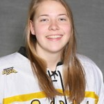 Former Gustavus women's hockey player Kirstin Peterson named Assistant Coach for the Gustavus women's hockey team.