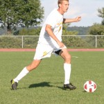 Junior defender Lucas Thompson has scored three points in Gustavus' last three games.