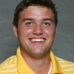 Gustavus junior Alex Kolquist shot an even-72 at day one of the Augsburg Invite and is tied for fourth place.
