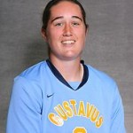 Goalkeeper Jessica Richert finished with 12 saves against Bethel, keeping Gustavus in the match after being blistered with 15 shots in the second half.