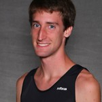First-year Dillon Emo posted the best time for the Gusties at the MIAC Championships with a 23rd place finish