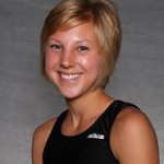 Junior Kate Eggers led the Gusties with a ninth place finish at the MIAC Championships.