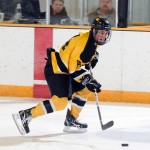 Zach May enters the weekend as Gustavus' top goal-scorer so far this season. May has three goals and one assist on the year.
