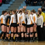 The Gustavus volleyball team will battle Saint Ben's in the MIAC Playoff Quarterfinals on Tuesday at 7:00 p.m. in St. Joseph.