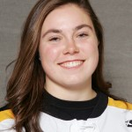 First-year forward Carolyn Draayer tallied her fourth multi-goal game with two goals Friday night in Burnsville, Minn.