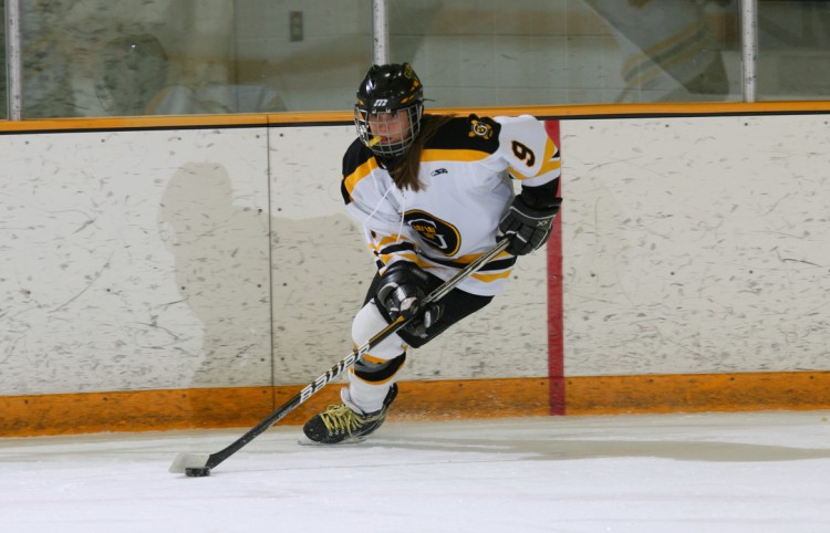 Amanda Cartony - MIAC Women's Hockey Athlete of the Week. Photo courtesy of Sport PiX