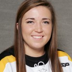 Kelly Thotland scored her fourth goal of the season Saturday afternoon.