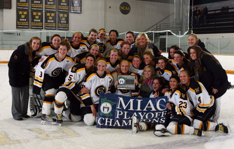 2011-12 MIAC Playoff Champion Golden Gusties