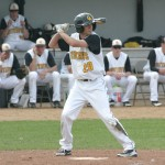 Tim Miller was a 3-for-7 on the day with three runs, two doubles, an RBI and an inside-the-park home run for the Gusties Monday afternoon.