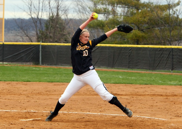 Junior Kate Rentschler has been named the MIAC's Pitcher-of-the-Week for her 3-0 performance last week.