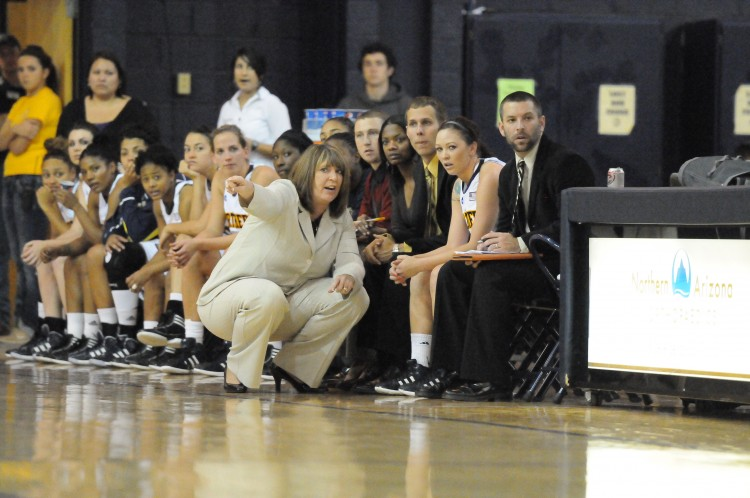 Laurie Kelly becomes the ninth head coach in the history of the Gustavus women's basketball program.