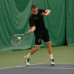 The men's tennis team ended an eight-match win streak for Carleton.