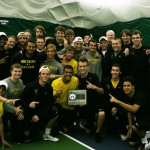 2012 MIAC Men's Tennis Playoff Champion Golden Gusties