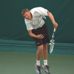 Eric Butorac won the NCAA Division III singles and doubles titles in 2003 at Gustavus.