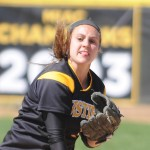 Senior second baseman Lisa Klass named 2012 Academic All-District. Photo courtesy of Sport PiX.