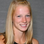Sophomore Caitlin Fermoyle finished 14th to lead the Gusties