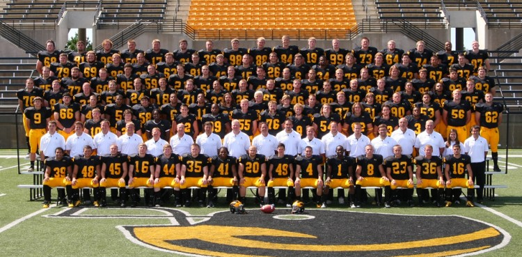 The 2012 Gustavus football team. Photo courtesy of Sport PiX.