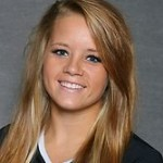 Paige Breneman had 14 digs against Augsburg on Saturday night.