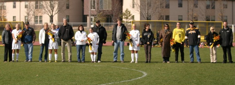 The seniors with their parents (Photo courtesy of Andrew Vold `14)