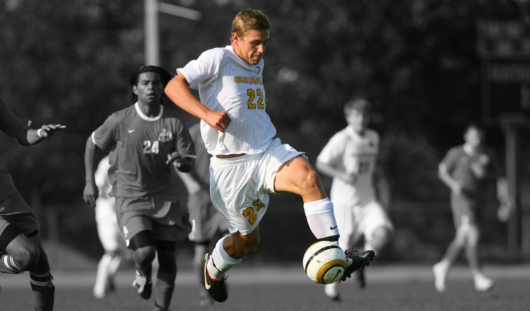 Zach Brown named MIAC Men's Soccer Athlete-of-the-Week for the second time this season.